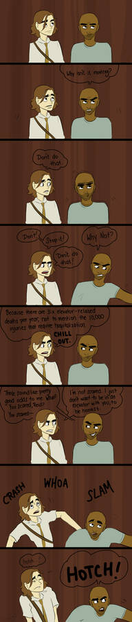 In The Elevator - Reid+Morgan