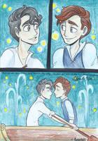 Klaine: Kiss the Boy by Muchacha10