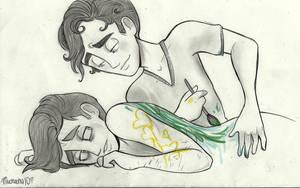 Klaine: Art and Broken Hearts by Muchacha10