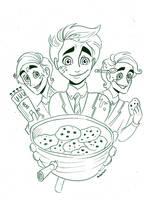 Dalton: Nerf Guns + Cookies by Muchacha10