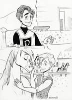 Klaine: A Knight + A Stableboy by Muchacha10