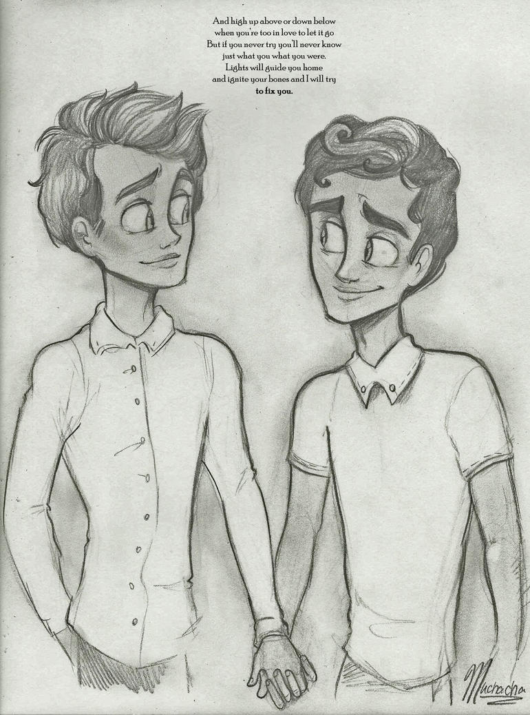 Klaine: Lights Will Guide You by Muchacha10 on DeviantArt