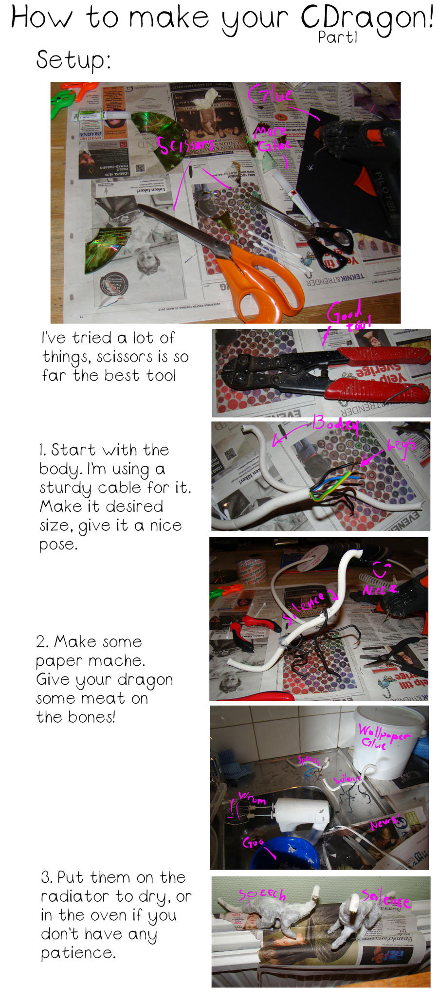 How to make your CDragon part1 by Jedni
