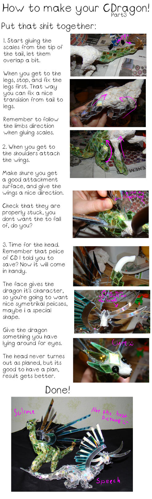 How to make your CDragon part3 by Jedni
