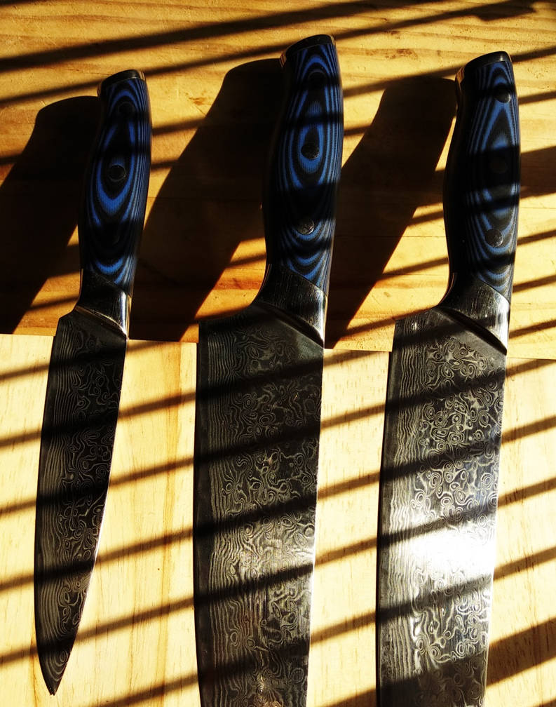 Knives in the Kitchen by Lotus105