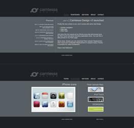 Camtessa Design v3 - Website