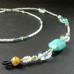 Cool Breeze Eyeglass Chain by Gilliauna