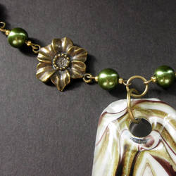 Summer Dance Lampwork Necklace by Gilliauna