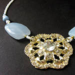 The Elegance of Snow Necklace