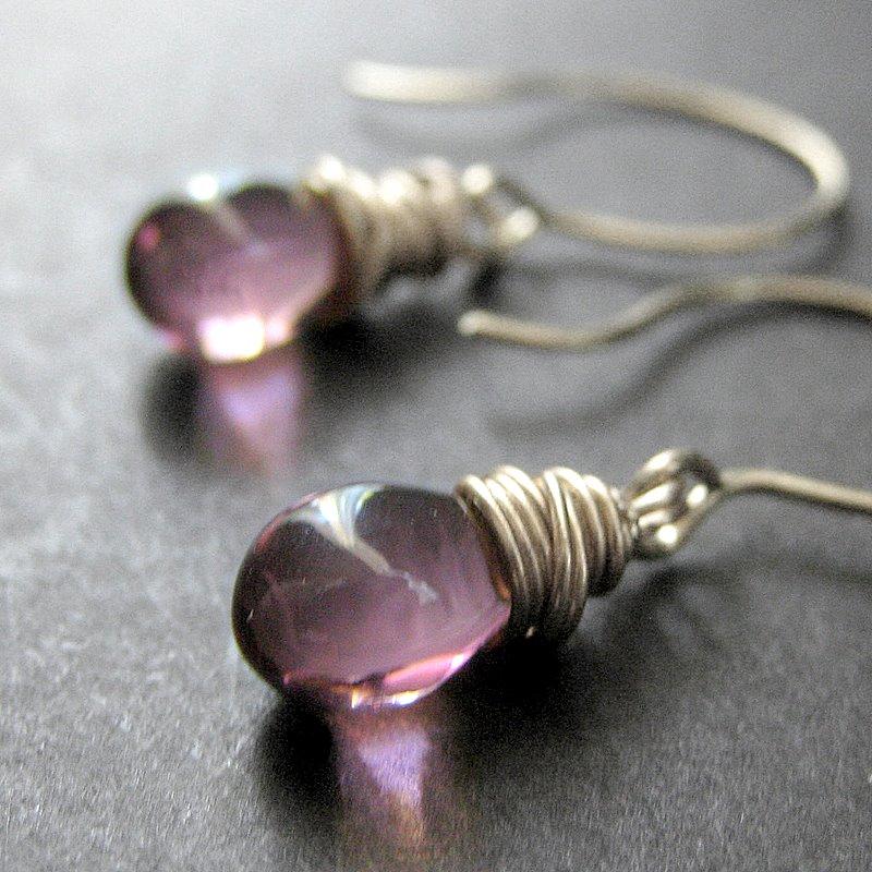 Elixir of Mystery Earrings by Gilliauna