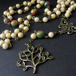 Nature Lover's Rosary Necklace