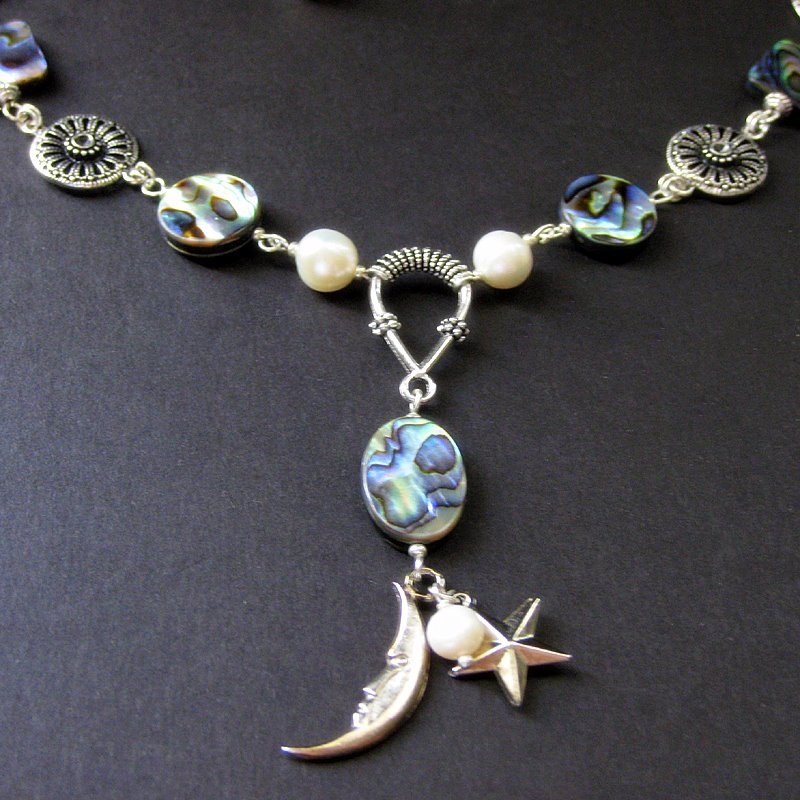 Celestial Abalone Necklace