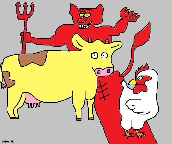 Cow and Chicken on Love-Cartoon-Network - DeviantArt