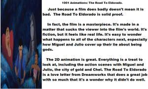 1001 Animations The Road To Eldorado.