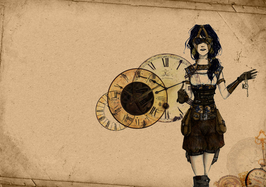wallpapers steampunk girl eyes - photo #27