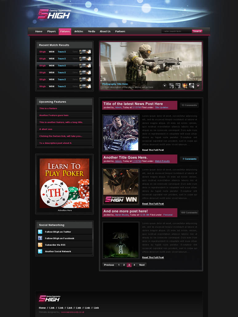 5High Website, view that by AaronMoody