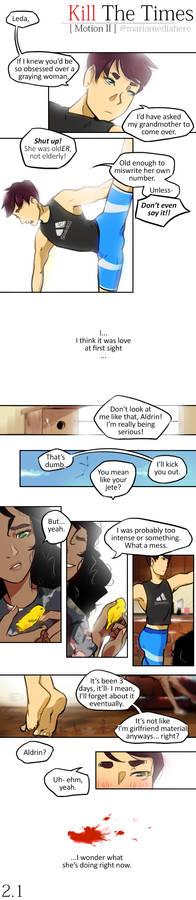 KillTheTimes [Original Comic] - Motion II Page 1