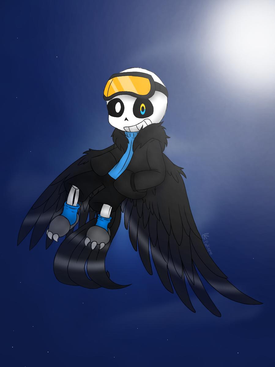 Birdtale // Sans   Undertale, Undertale drawings