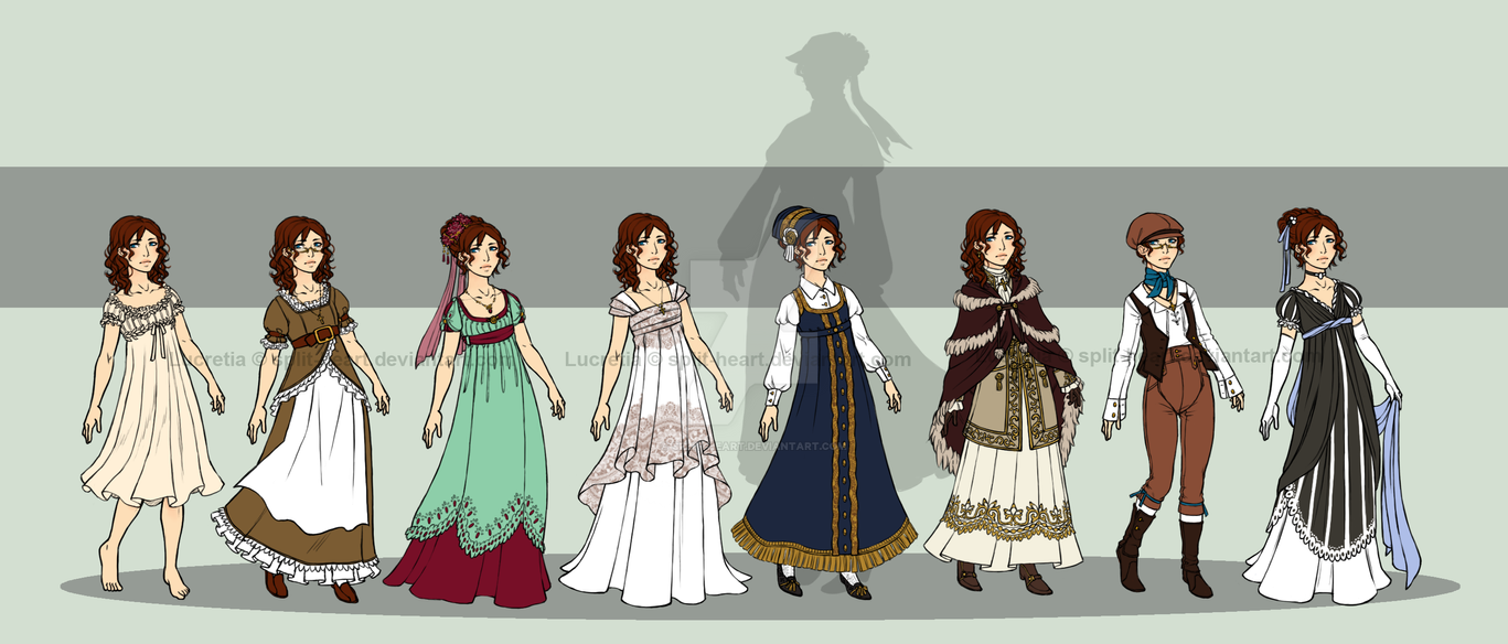 Young Lucretia's Wardrobe by Split-Heart