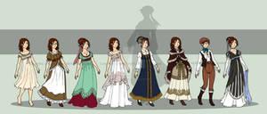 Young Lucretia's Wardrobe