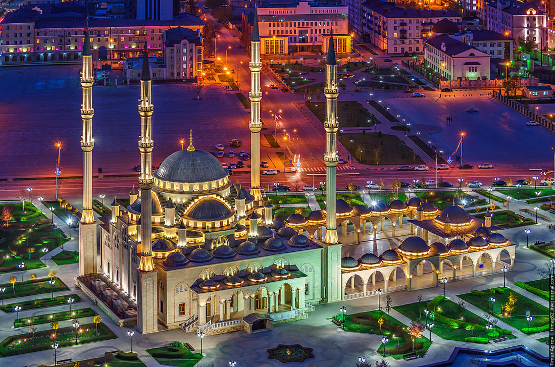 мечети фото ночью