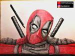 Deadpool high detailed drawing #marvel