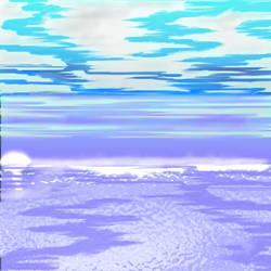 Aqua Sunset