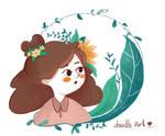 The girl from yesterday | Flower girl