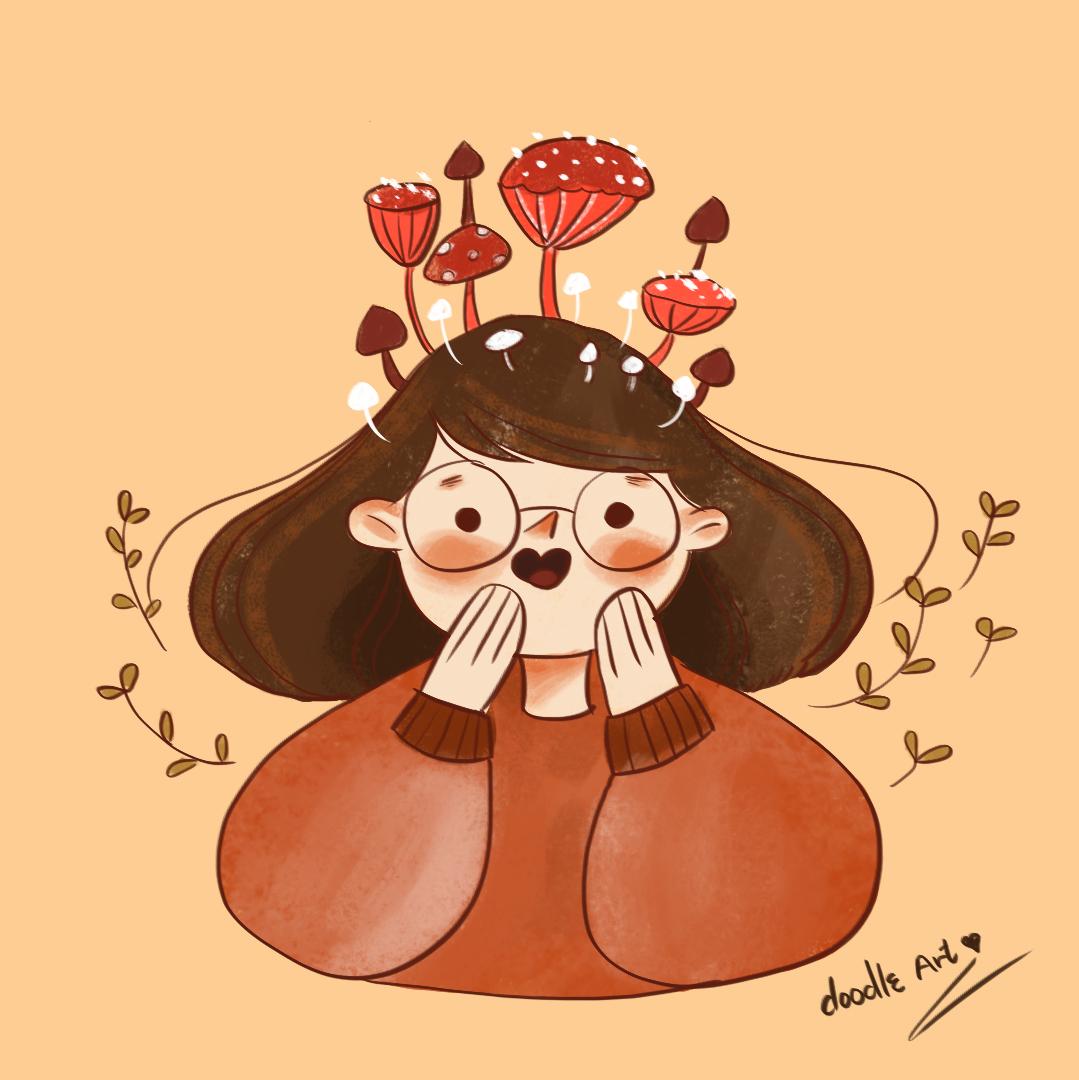 Mushroom girl | Dream girl