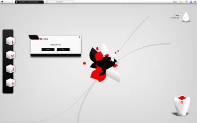 Akuminlinux Desktop Mockup by FrozenTheaterD