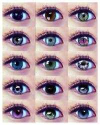 meh eyes :D by dolugecat