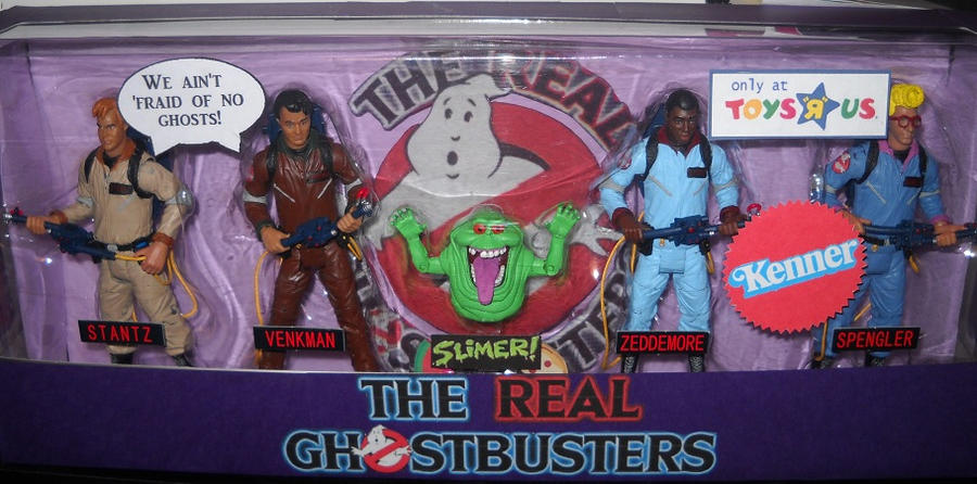 Real Ghostbusters Kenner Set By Derrico13 On Deviantart
