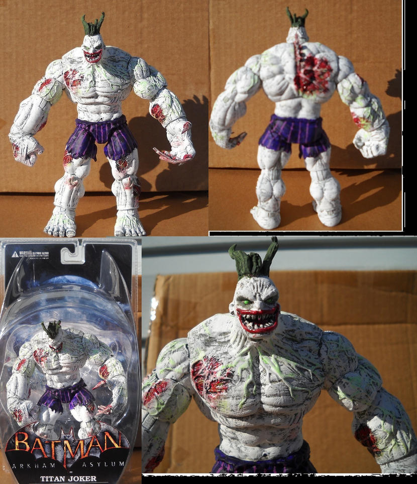 Arkham Joker Statue Arkham Asylum Joker Batman