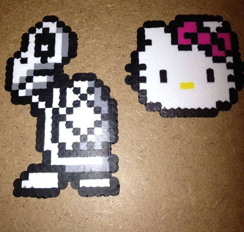 Pixel Art Dry Bones and Hello Kitty by Derrico13 on DeviantArt