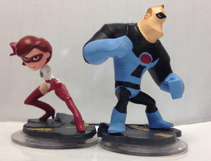 Custom Disney Infinity Elastigirl + Mr. Incredible by ...