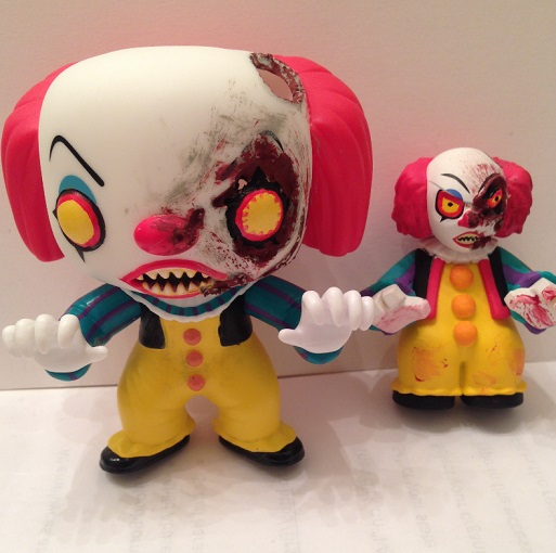 Sewer Battle Pennywise Funko Customs By Derrico13 On