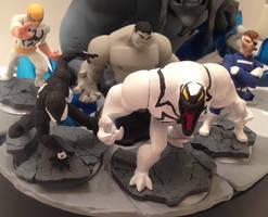 Marvel Disney Infinity 2.0 customs Wave 1 by Derrico13