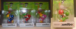 Custom Baby Yoshi Squad Mario Luigi Peach Rosalina