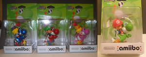Custom Baby Yoshi Squad Mario Luigi Peach Rosalina by Derrico13