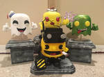 Custom Ghostbusters Pac-Man Funko Pop! by Derrico13