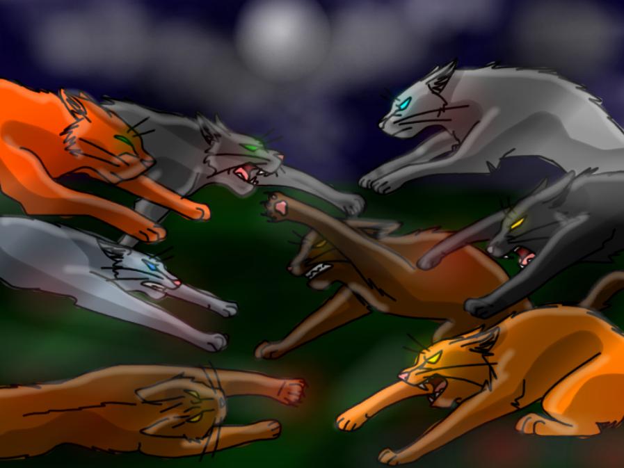 Pubg By Sodano On Deviantart: Warrior Cat Fight By WolFkId27 On DeviantArt