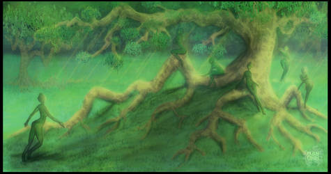 Forest Nymphs by alienorb