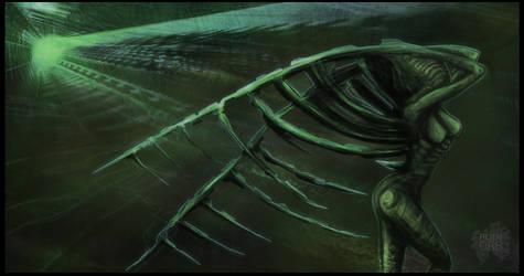 Growing wings by alienorb
