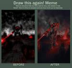 Draw this again: Nod Avatar (2009 vs 2019) by alienorb