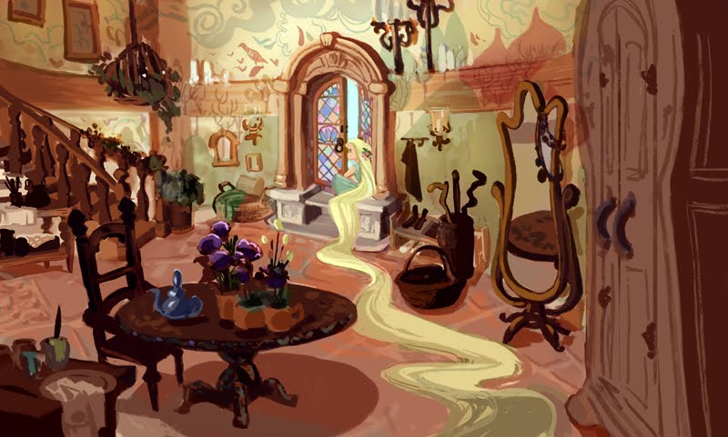 Rapunzel S Tower By Victoria Ying On Deviantart