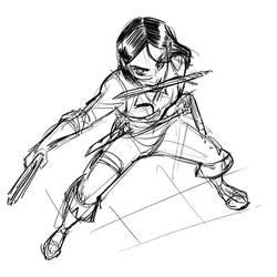 Lila Sketch