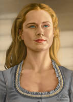 Evan Rachel Wood in Westworld by martianpictures