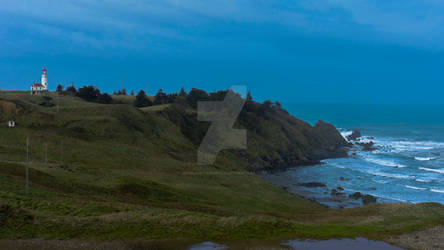 Cape Blanco Lighthouse Landscape