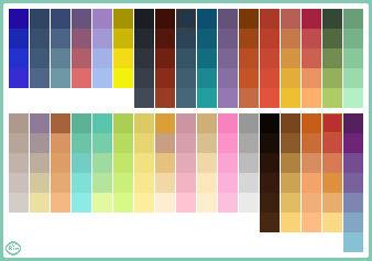 Color Palette of 2010