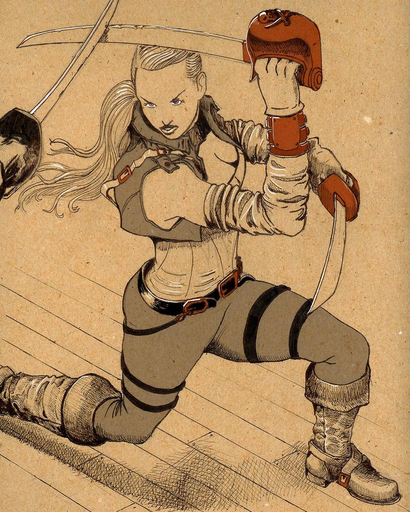 Swordfight by quickmind